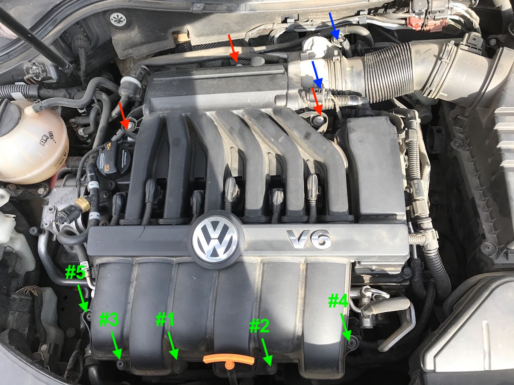 Vwvortex diy replacing the pcv oil separator diaphragm reconnect the throttle body and re set the ring clamp reconnect all electrical connections replace the coil harness cover and youre done sciox Choice Image